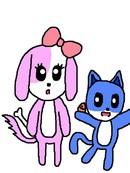 汪姐和喵弟的日常漫画